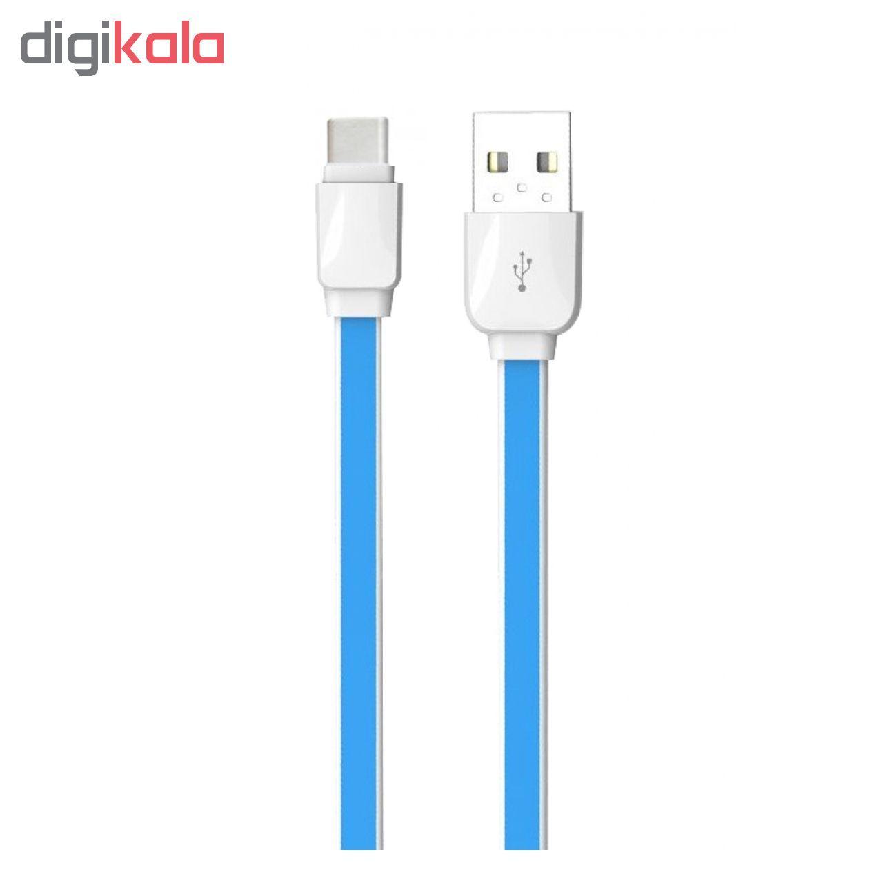 کابل تبدیل USB به USB-C الدینیو مدل XS-07 طول 1 متر main 1 1