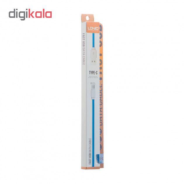 کابل تبدیل USB به USB-C الدینیو مدل XS-07 طول 1 متر main 1 3