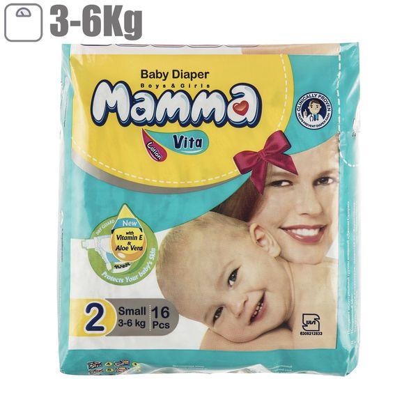 پوشک ماما سایز کوچک بسته 16 عددی