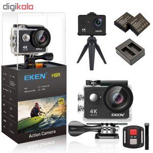 دوربین فیلم برداری ورزشی اکن مدل H9R V2 به همراه لوازم جانبی  EKEN H9R V2 Action Camera 4K