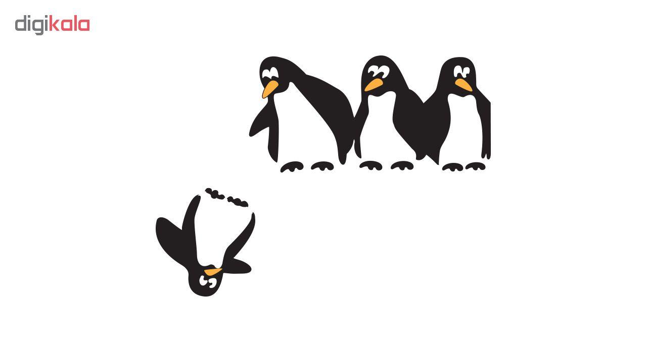 استیکر کلید پریز طرح پنگوئن ها main 1 1