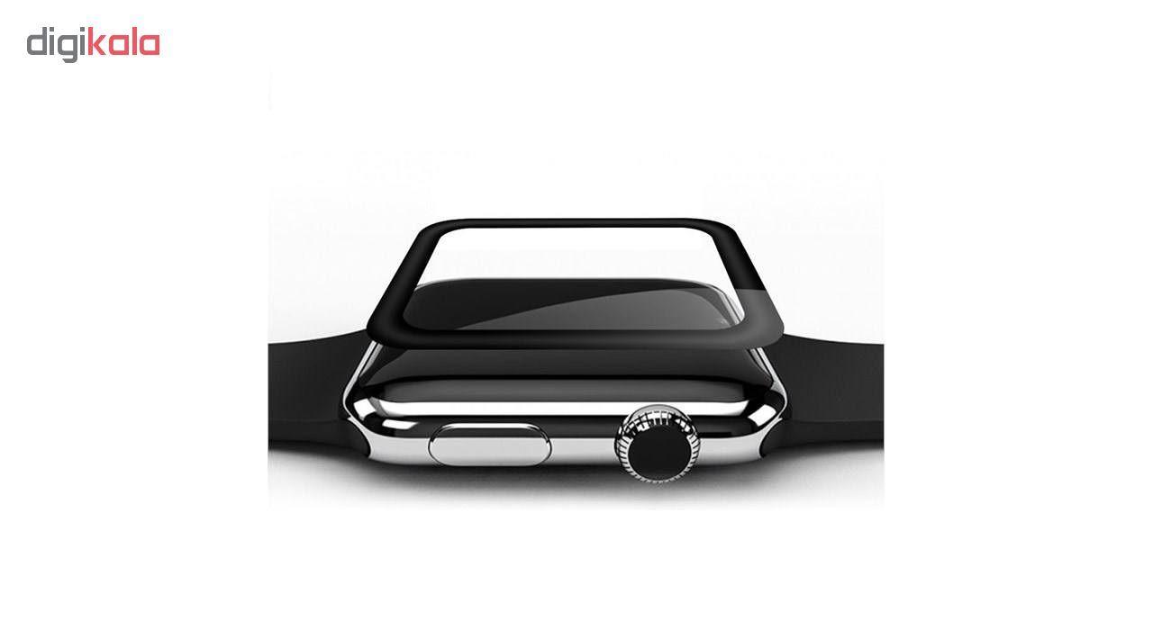 محافظ صفحه نمایش  مدل 3D Tempered مناسب برای اپل واچ سایز 40 میلی متری main 1 2
