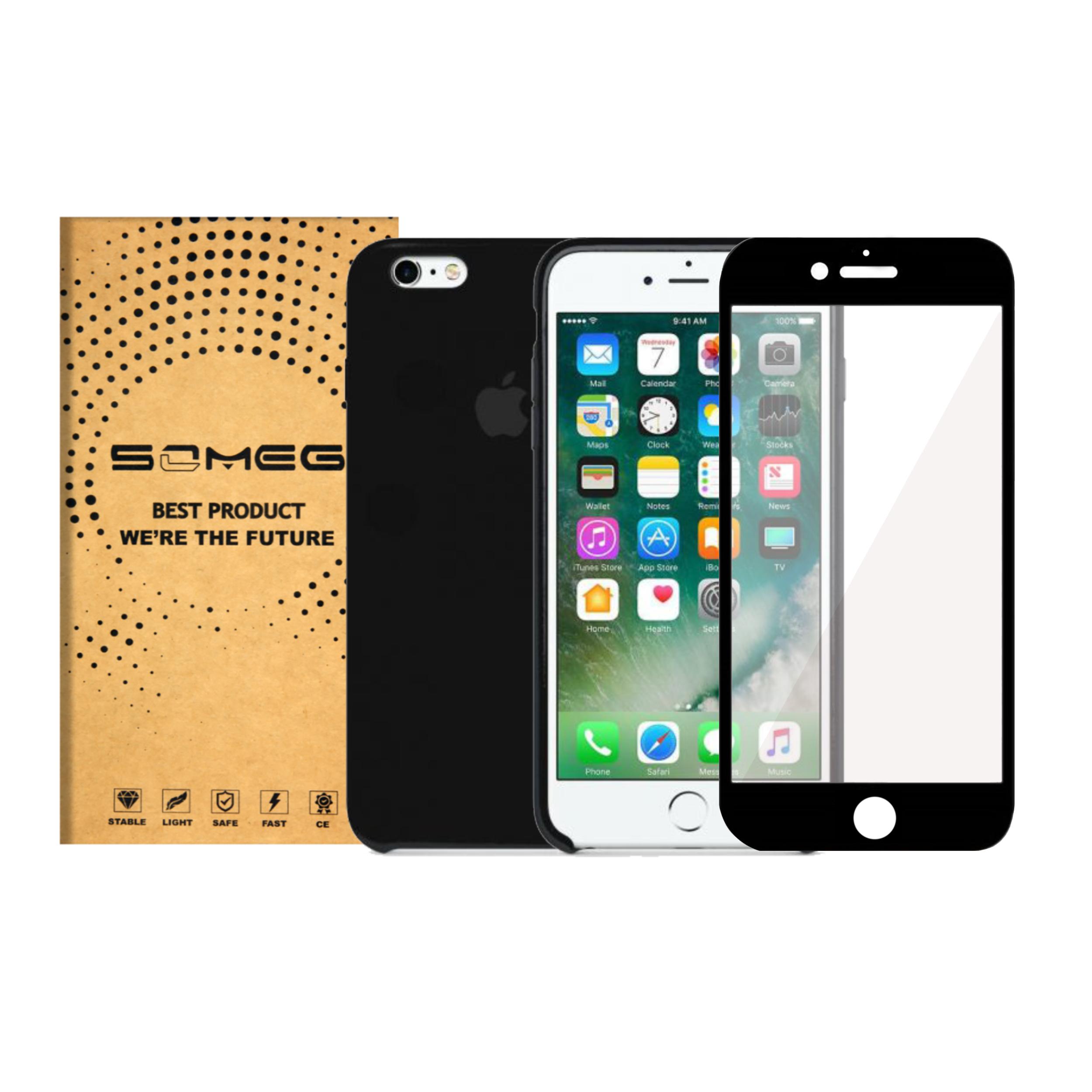 کاور سومگ مدل SIC مناسب برای گوشی موبایل اپل iPhone 6s-6 به همراه محافظ صفحه نمایش