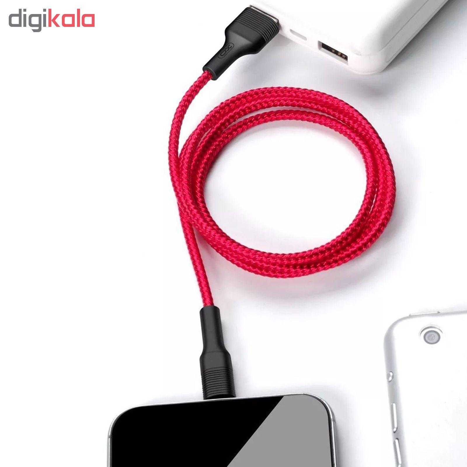 کابل تبدیل USB به لایتنینگ آیفون ایکس او مدل NB51 طول 1 متر main 1 6