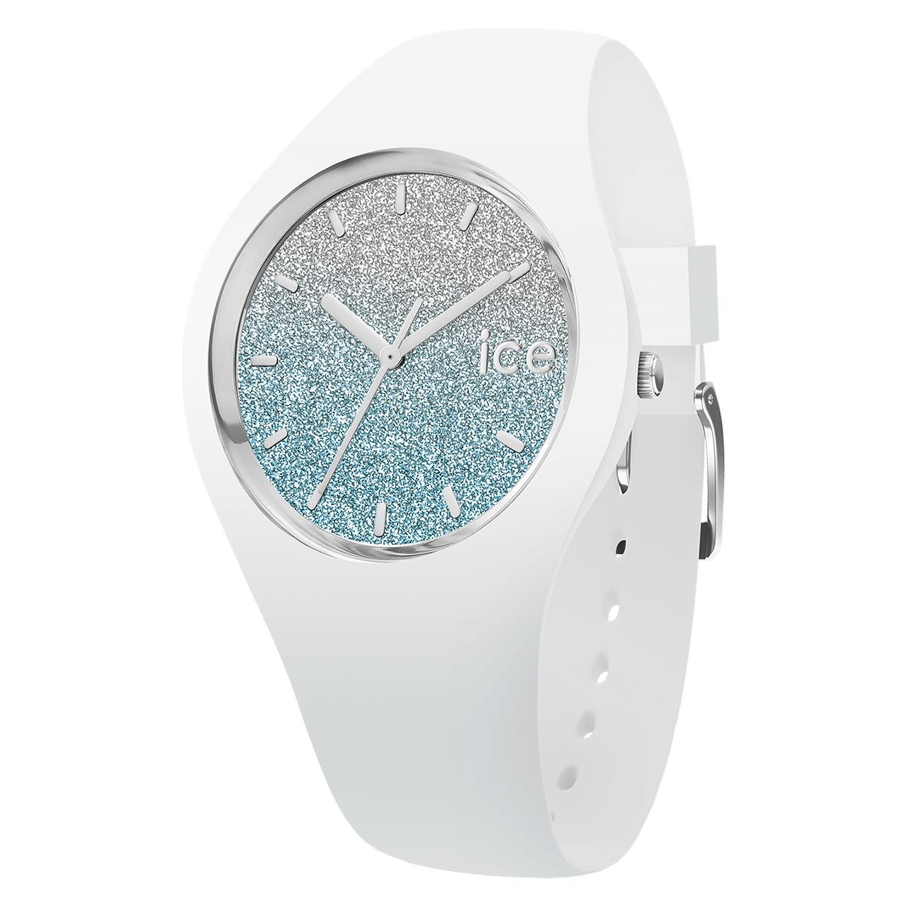 ساعت مچی عقربه ای آیس واچ مدل LO-WHITE BLUE-MEDIUM-3H