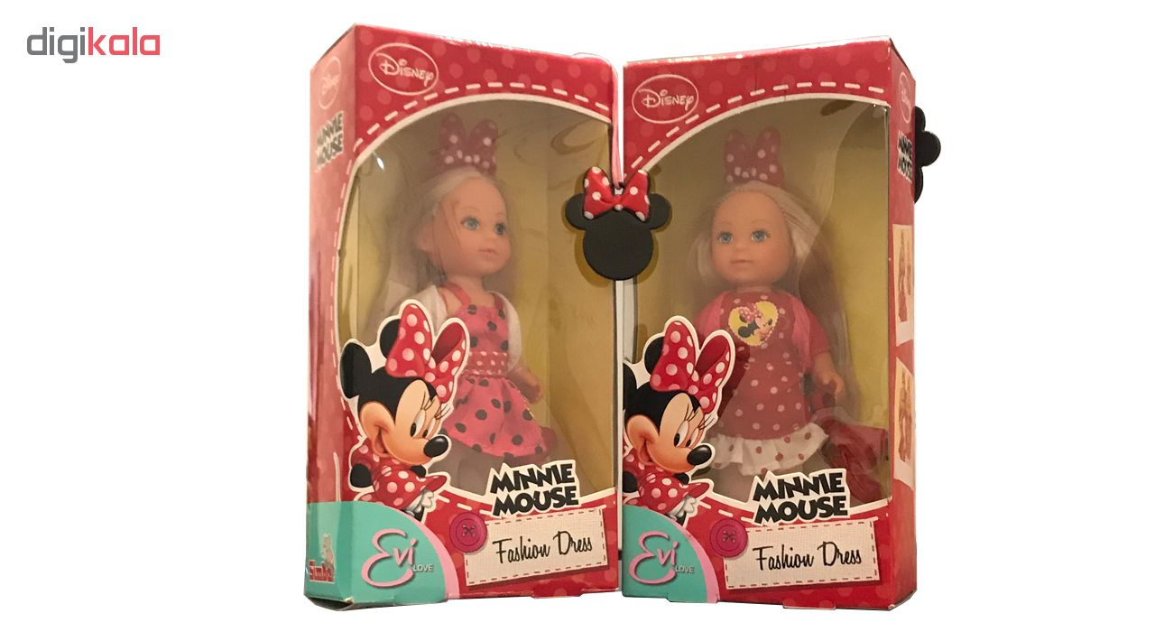 عروسک سیمبا مدل Evi Love بسته 2 عددی