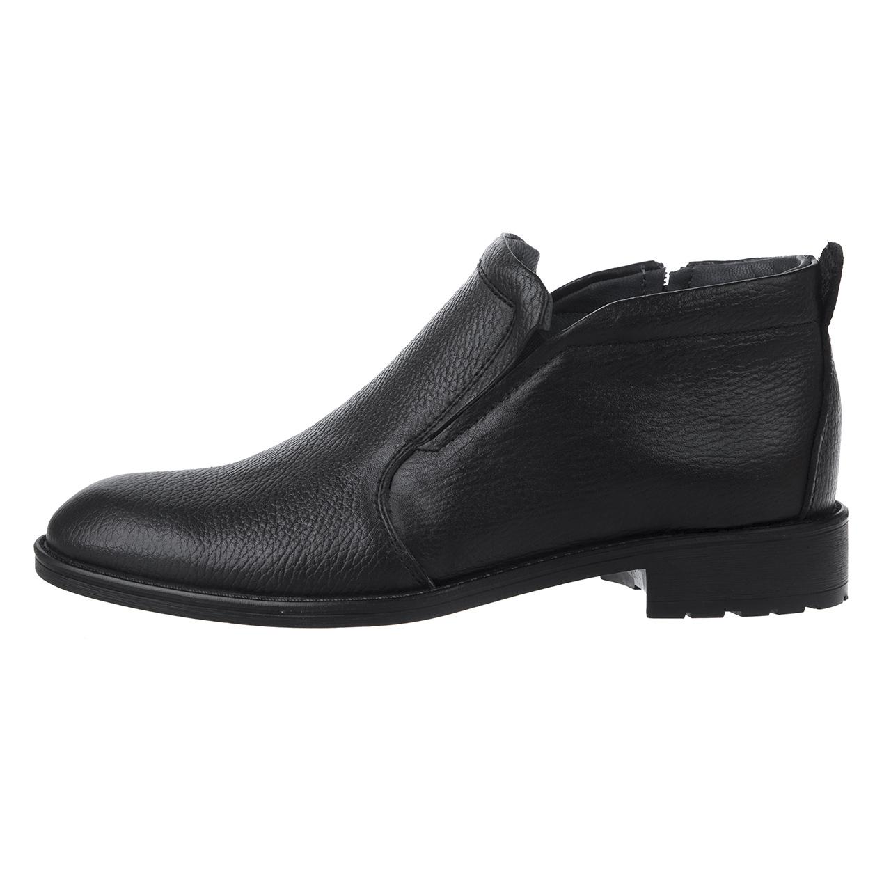 کفش مردانه ساینا چرم مدل آیهان