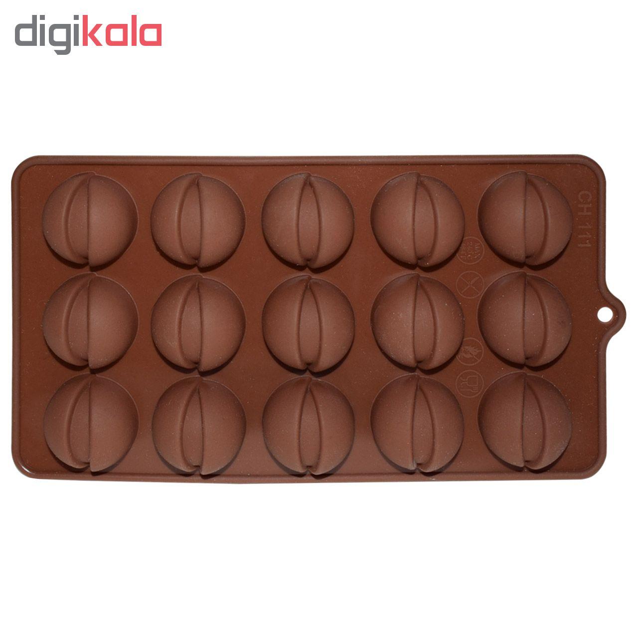 قالب شکلات مدل پسته کد CH111