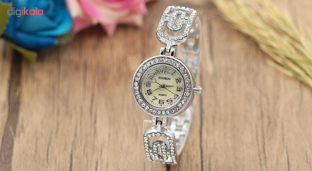 ساعت مچی عقربه ای زنانه سوسو مدل SS1974