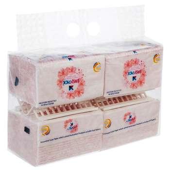 دستمال توالت 50 برگ ایزی پیک مدل New بسته 4 عددی