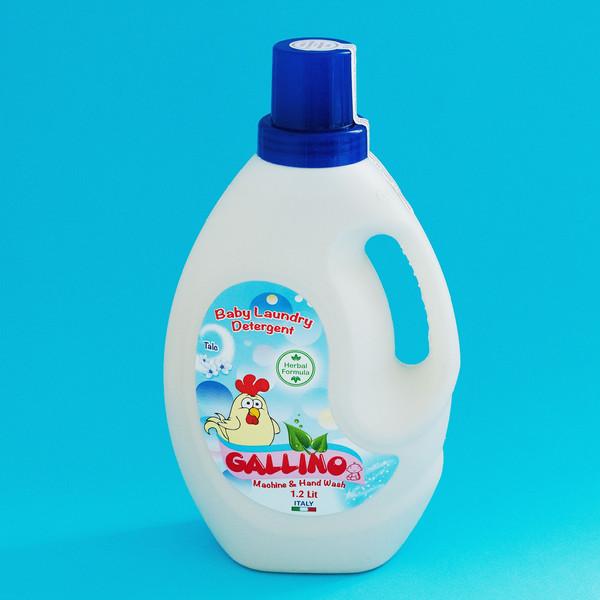 مایع لباسشویی کودک و نوزاد گالینو مدل عصاره تالک حجم 1200 میلی لیتر