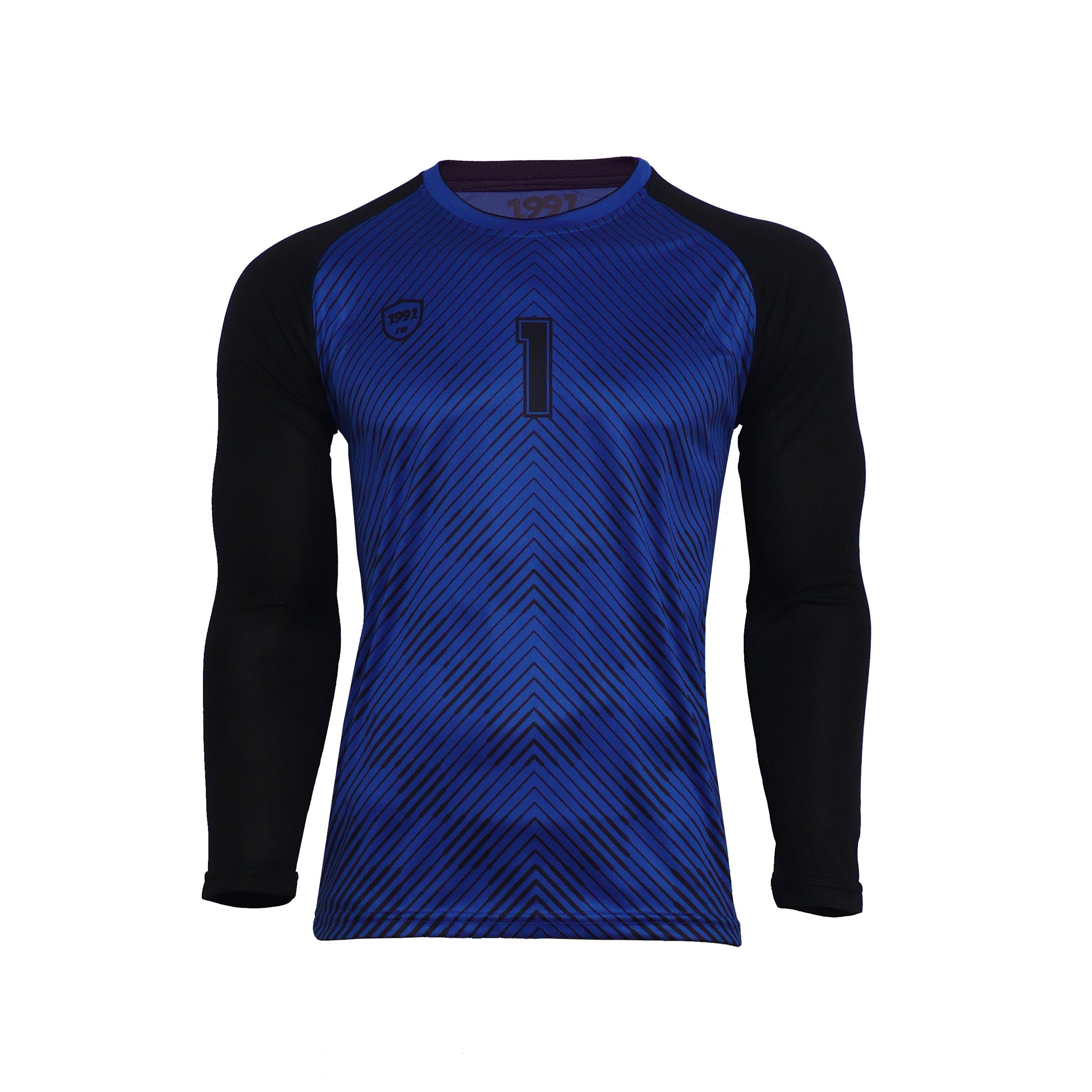 تی شرت ورزشی مردانه 1991 اس دبلیو مدل HOL Darkblue