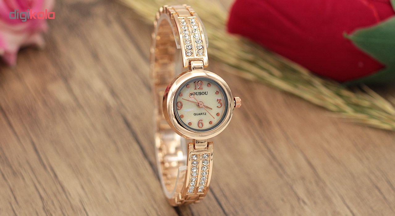 ساعت زنانه برند سوسو مدل SS1976
