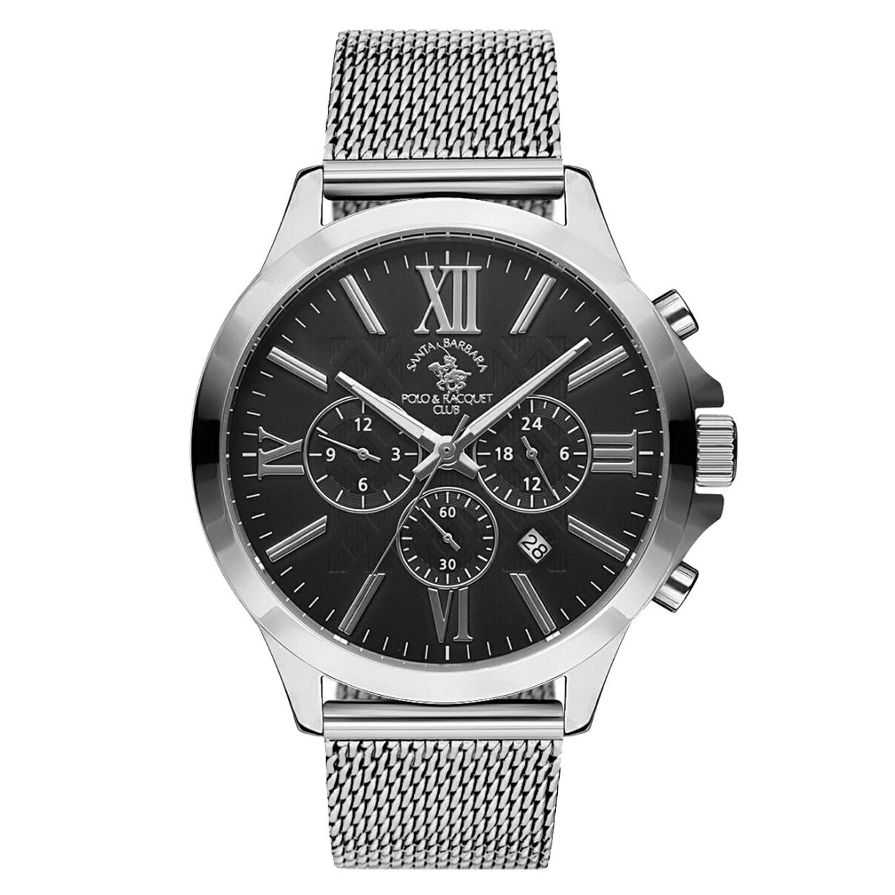 ساعت مچی عقربه ای مردانه سانتا باربارا مدل sb.3.1143.1