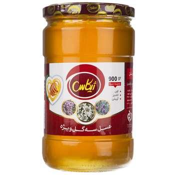 عسل سه گل ژیکاس - 900 گرم