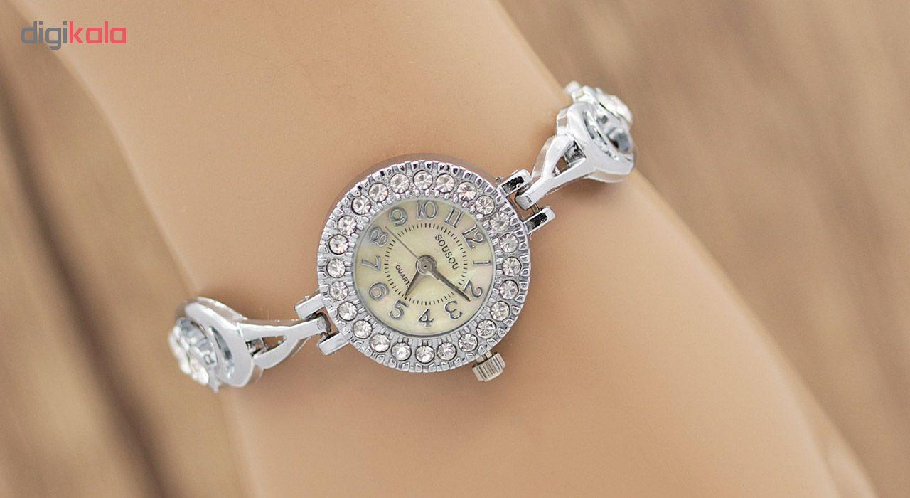 ساعت مچی عقربه ای زنانه سوسو مدل SS1979