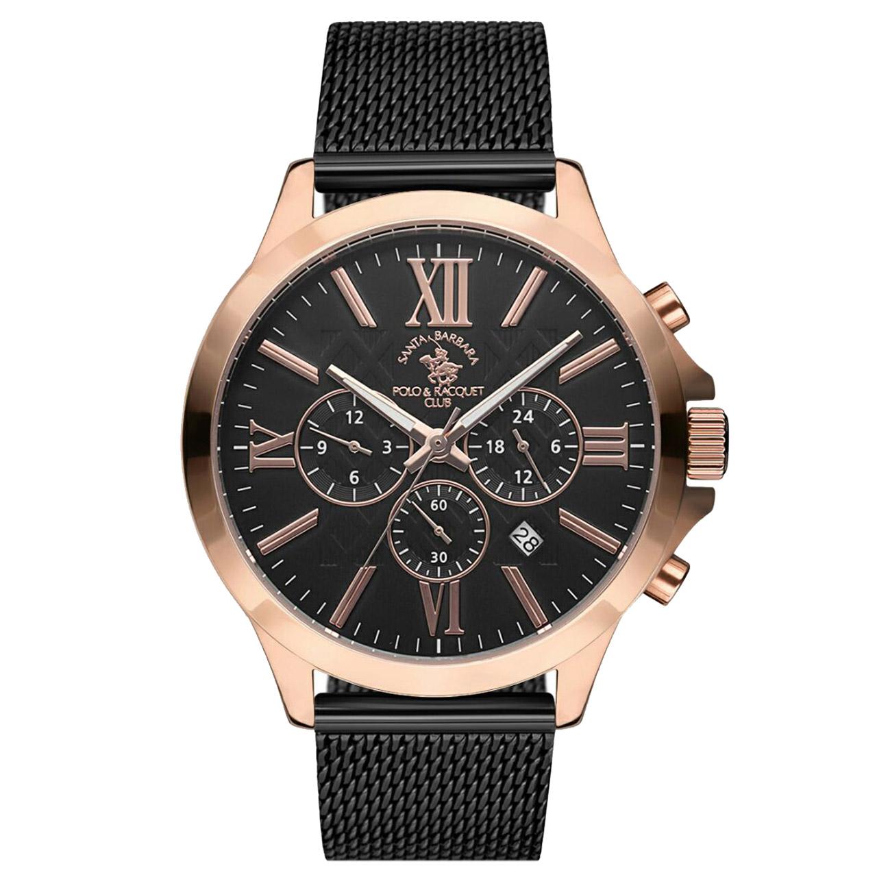 ساعت مچی عقربه ای مردانه سانتا باربارا مدل sb.3.1143.6