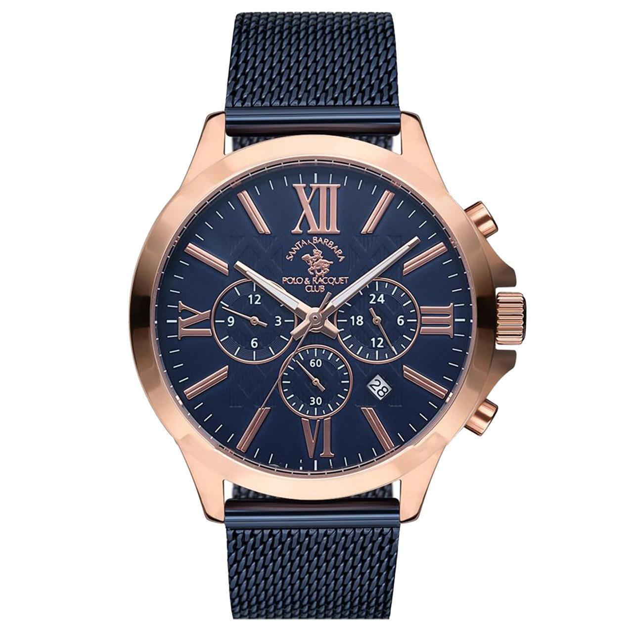 ساعت مچی عقربه ای مردانه سانتا باربارا مدل sb.3.1143.7