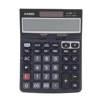 تصویر ماشین حساب کاسیو DJ-120-D Casio DJ-120 D Calculator