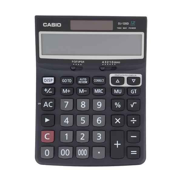 ماشین حساب کاسیو مدل DJ-120D