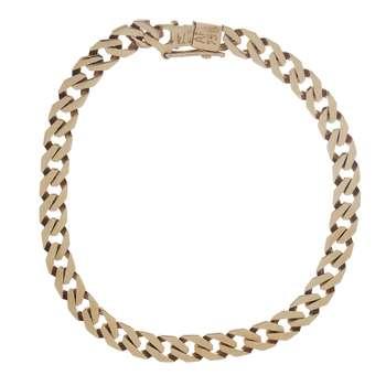 دستبند طلا 18 عیار گوی گالری مدل G47