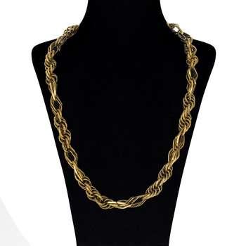 گردنبند طلا 18 عیار گوی گالری مدل G49   Gooy Gallery G49 Gold Necklace