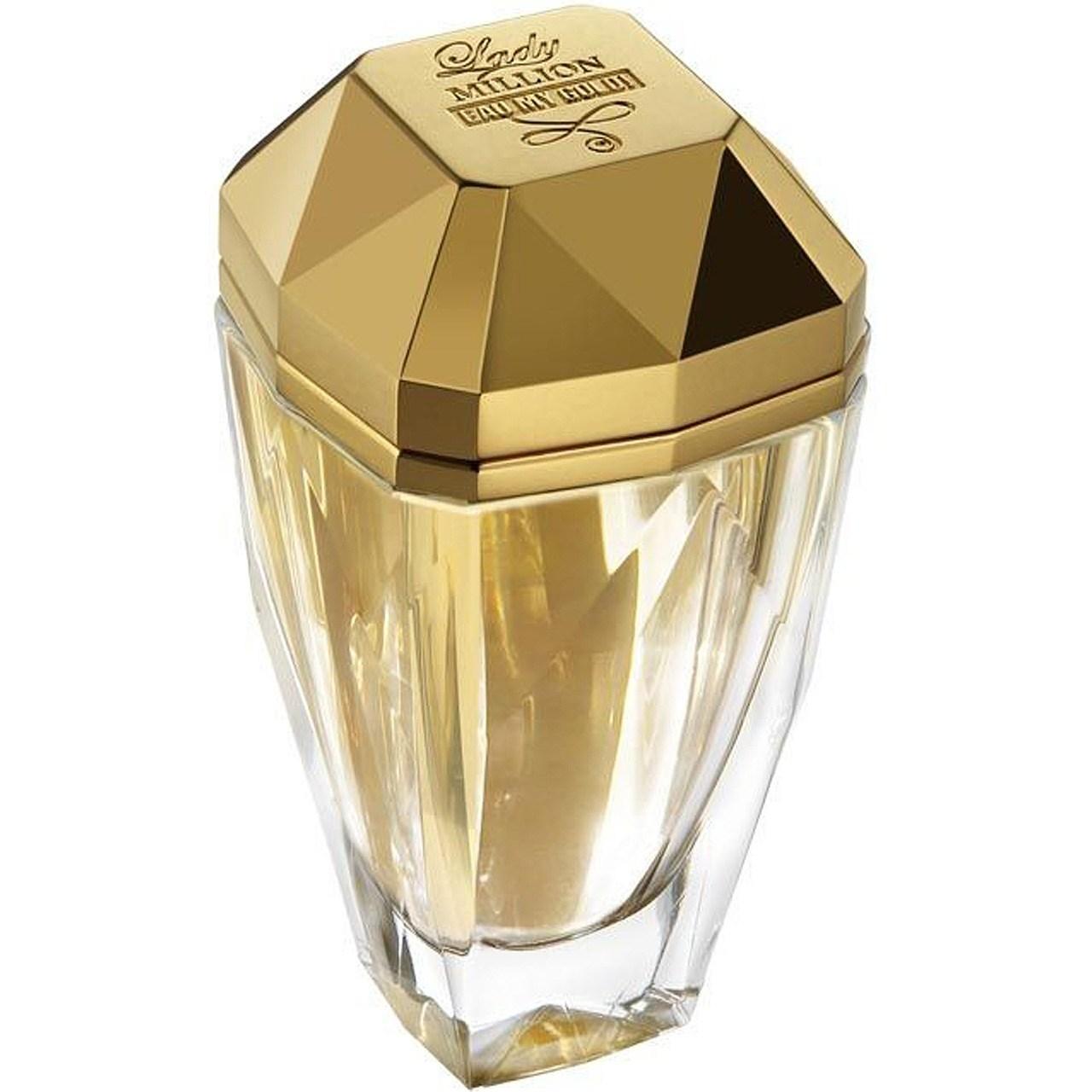 ادو تویلت زنانه پاکو رابان مدل Lady Million Eau My Gold حجم 80 میلی لیتر