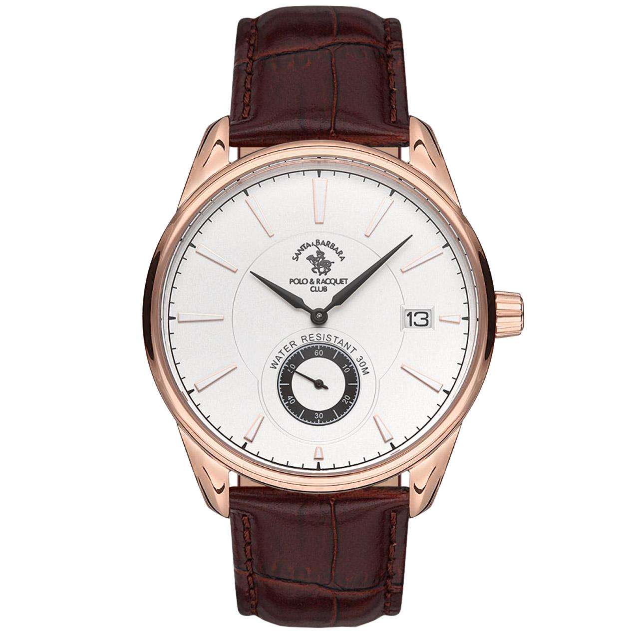 ساعت مچی عقربه ای مردانه سانتا باربارا مدل sb.5.1156.1