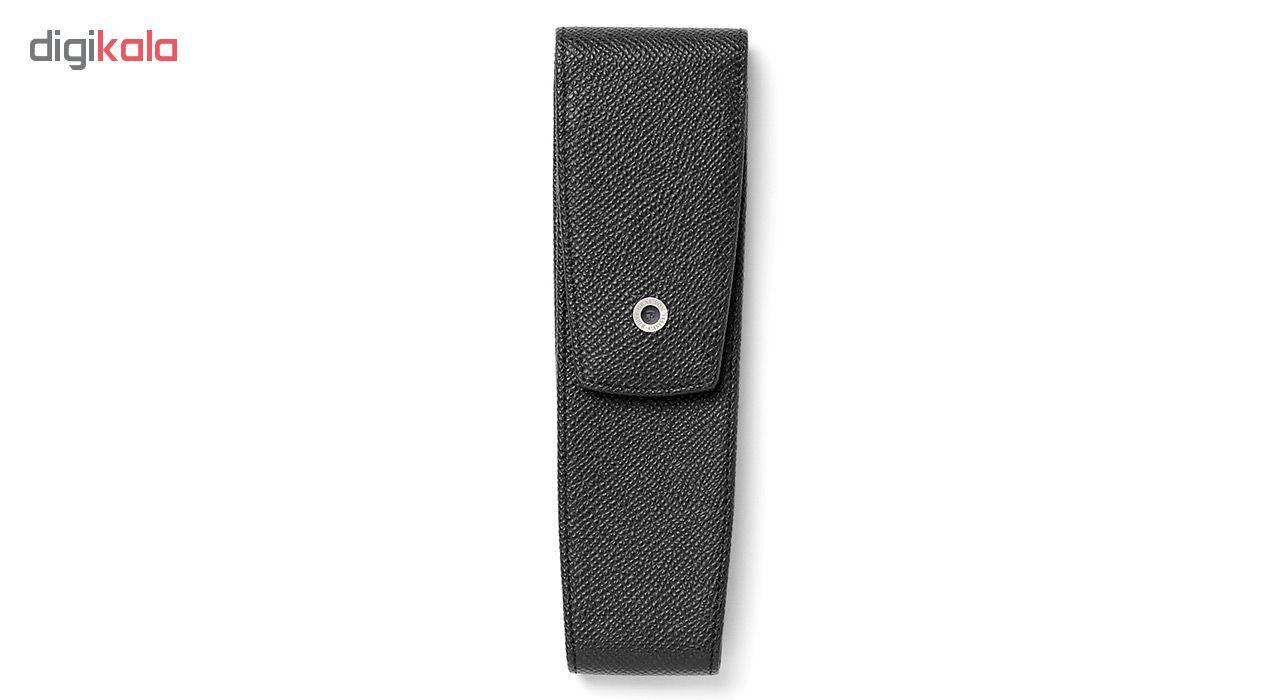 کیف خودکار چرم طبیعی گراف فون فابر کاستل مدل مدل Epsom مناسب برای 2 خودکار