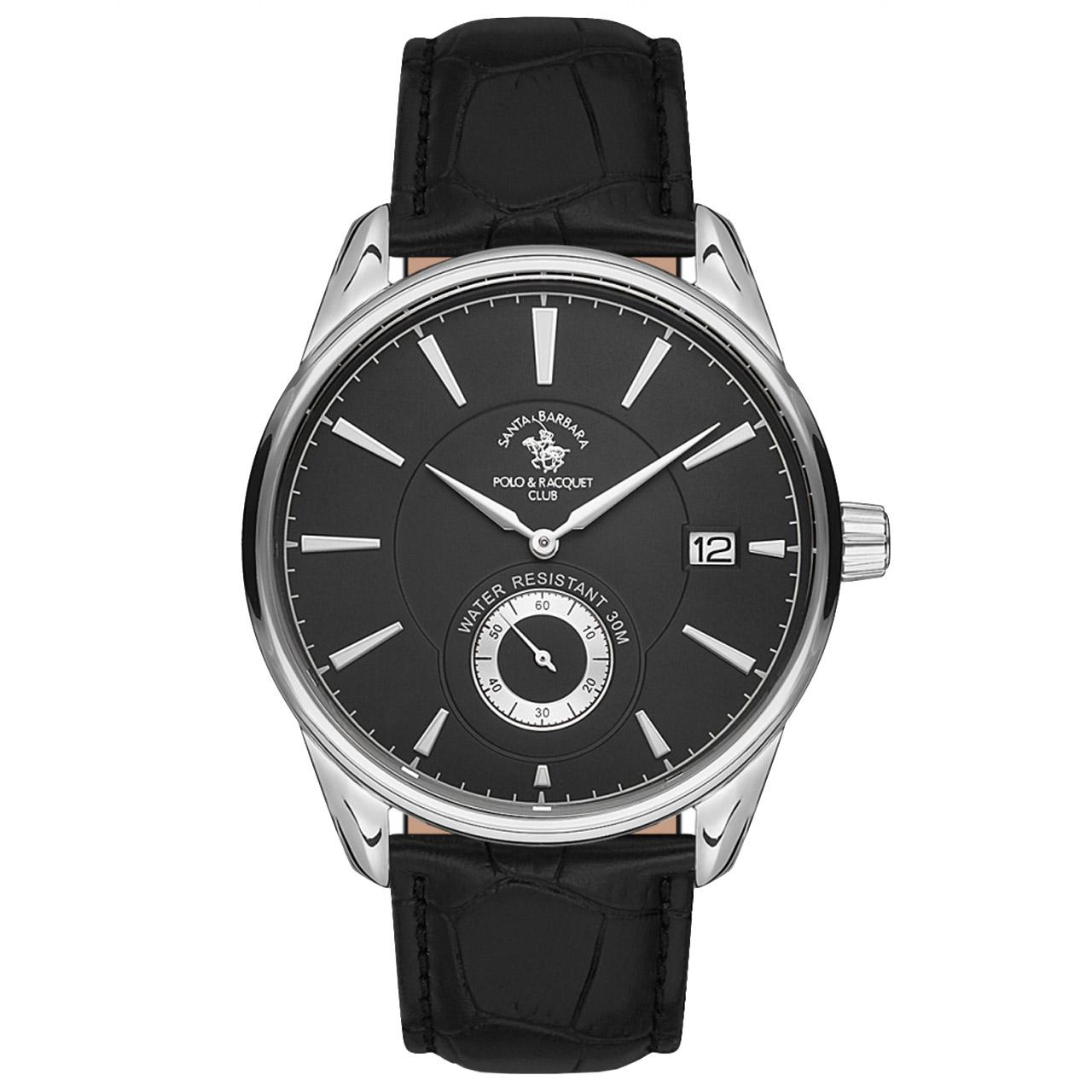 ساعت مچی عقربه ای مردانه سانتا باربارا مدل sb.5.1156.6