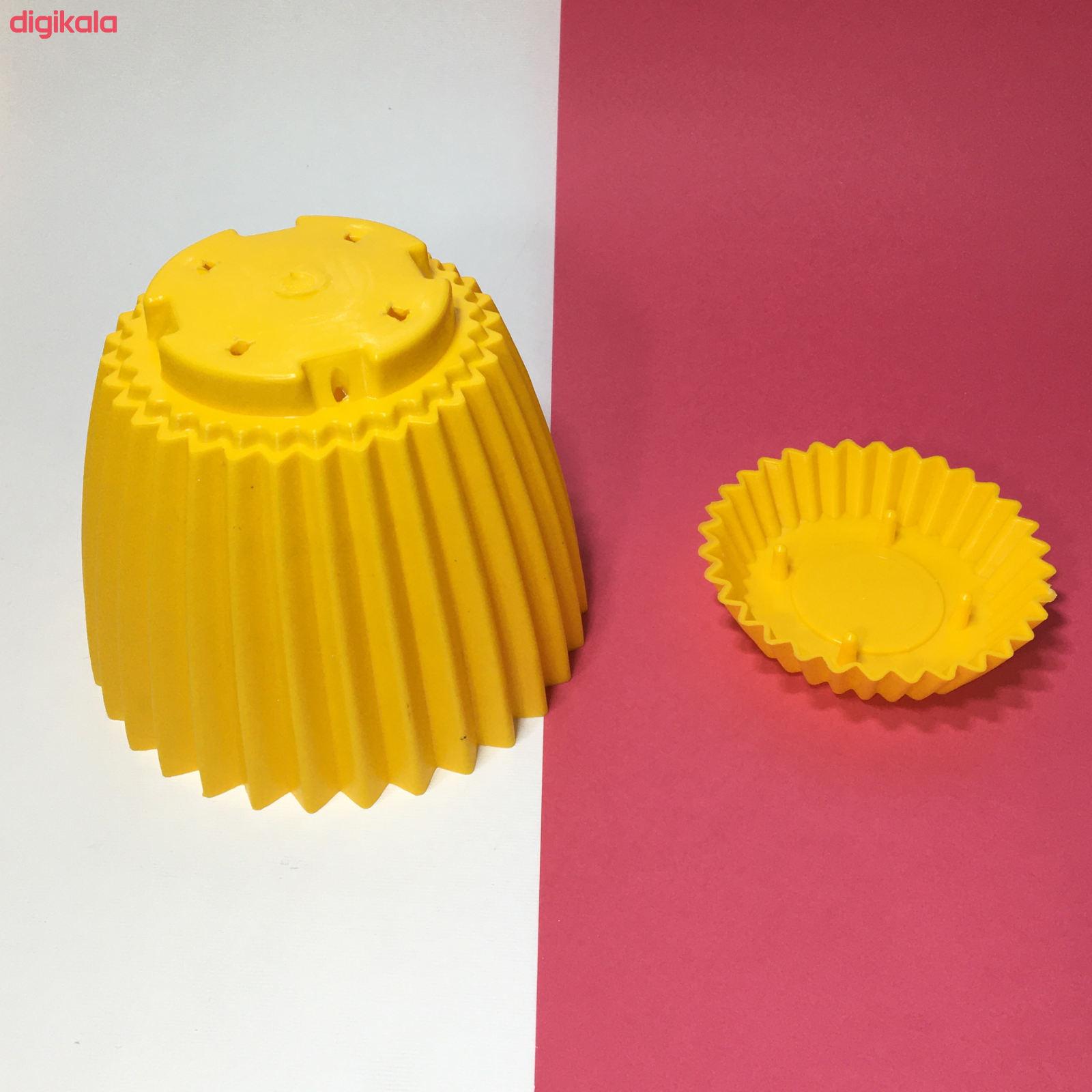 گلدان دانیال پلاستیک کد 210 main 1 5