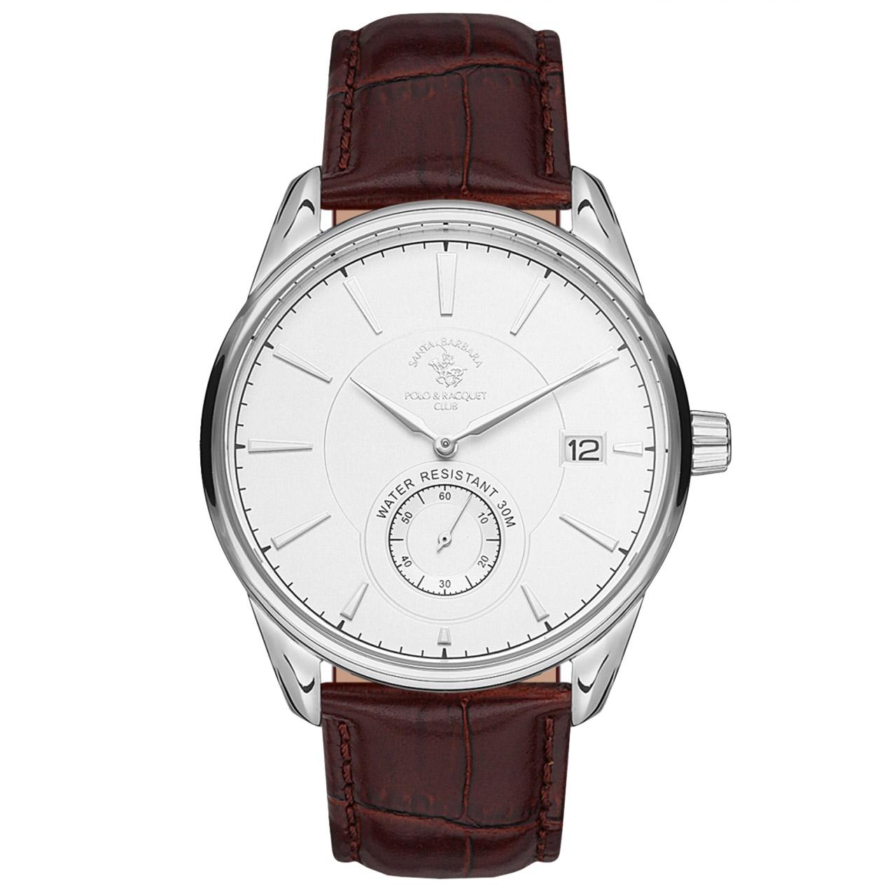 ساعت مچی عقربه ای مردانه سانتا باربارا مدل sb.5.1156.7