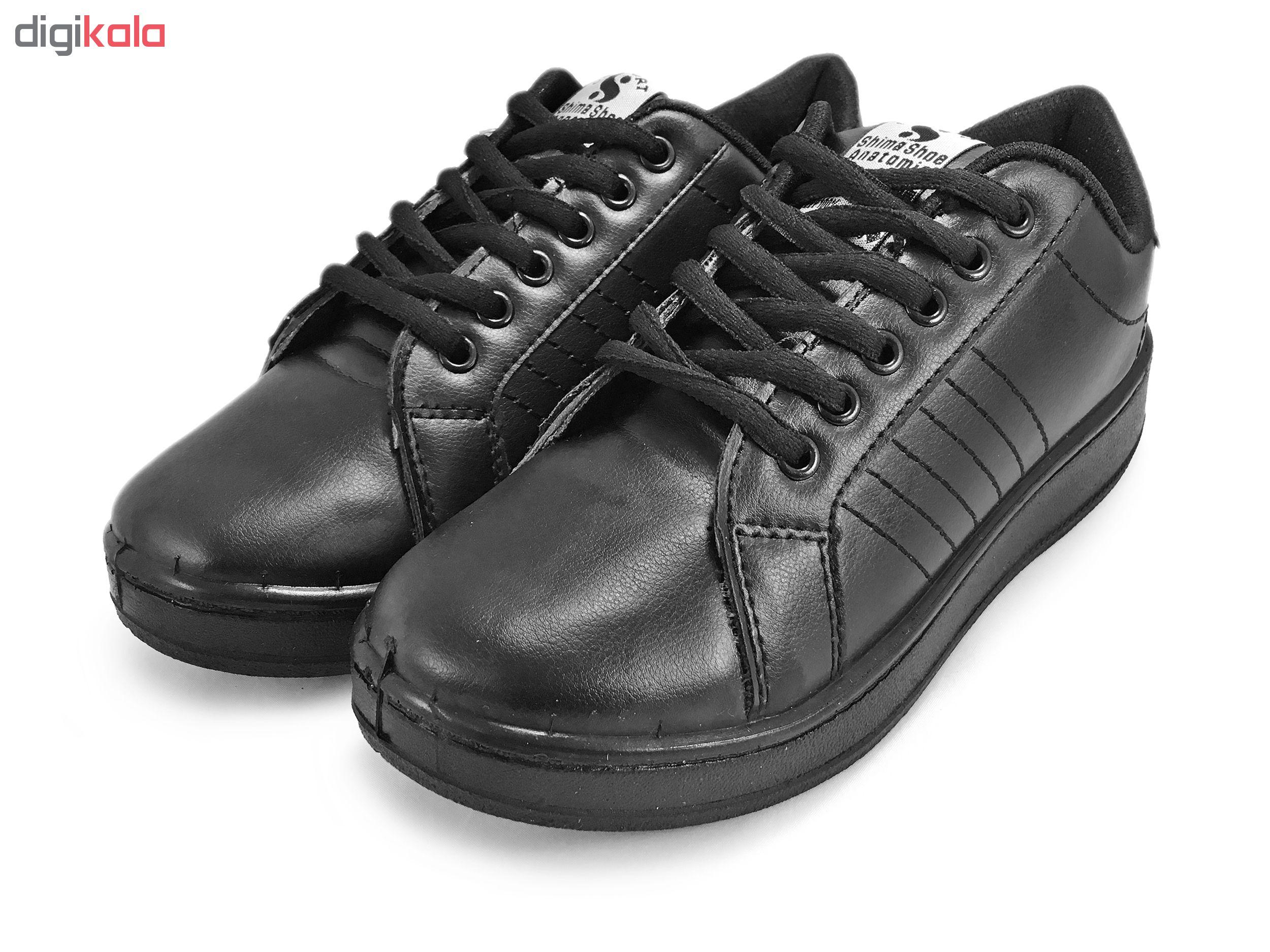 کفش مخصوص پیاده روی زنانه کفش شیما مدل اسمیت کد SJ177