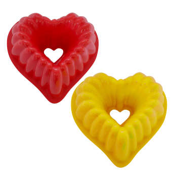 قالب ژله طرح قلب بسته 2 عددی