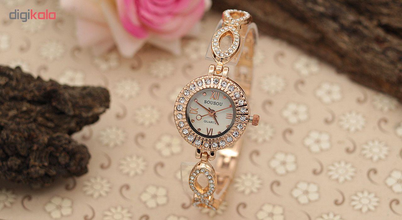 ساعت مچی عقربه ای زنانه سوسو مدل SS1989