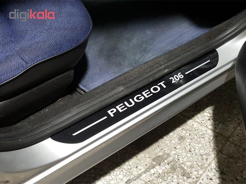 برچسب پارکابی خودرو مدل S127 مناسب برای پژو 206 main 1 1