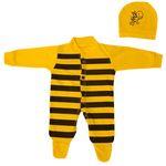 ست سرهمی و کلاه نوزادی کد msa-60