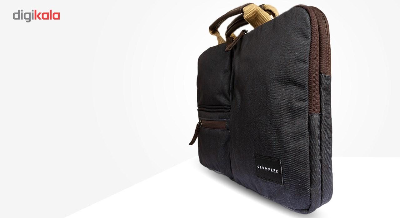 کیف لپ تاپ کرامپلر مدلDenim Delight Brown مناسب برای لپ تاپ 13 اینچی