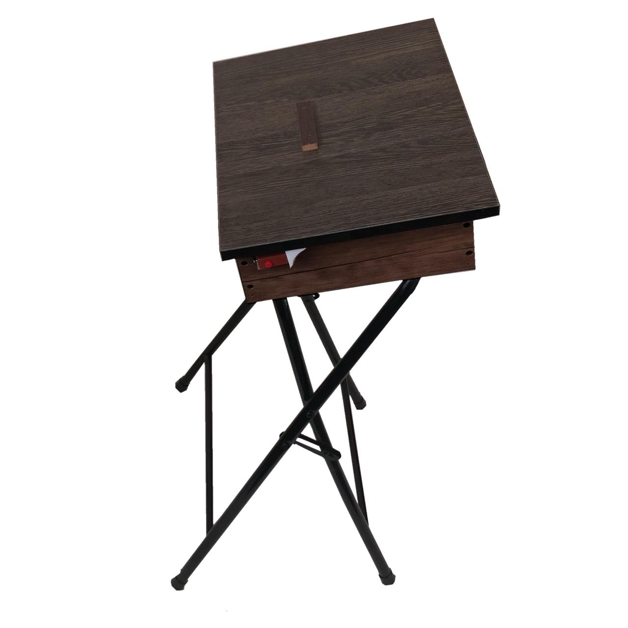 میز نماز تاشو مدل یاس باکس دار