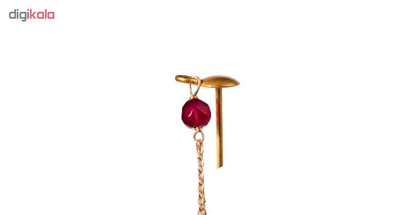 گوشواره طلا 18 عیار گالری مرجان مدل 0866