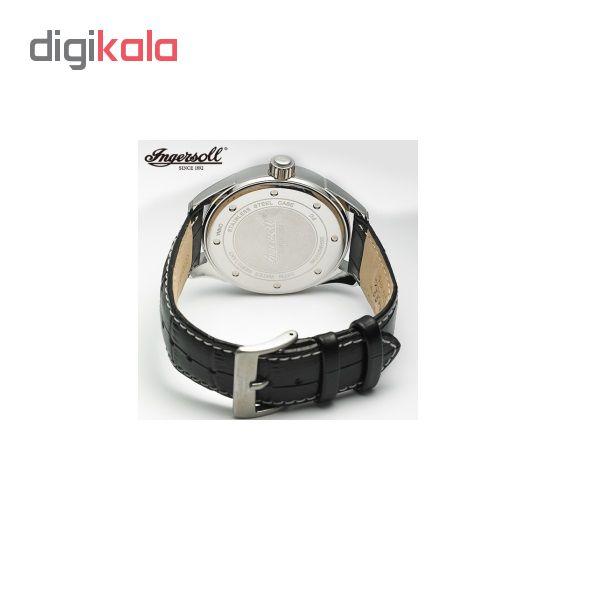 ساعت مچی عقربه ای مردانه اینگرسل مدل INQ028WHBK