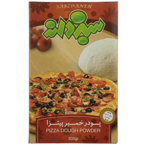 پودر خمیر پیتزا سبزدانه مقدار 500 گرم