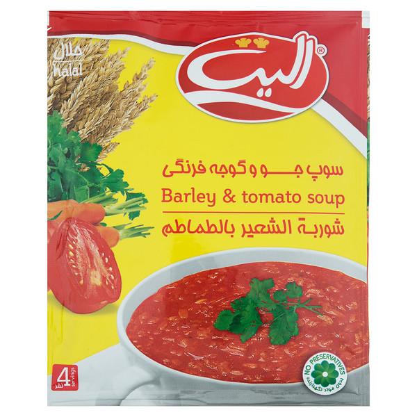 سوپ جو و گوجه فرنگی الیت مقدار 65 گرم