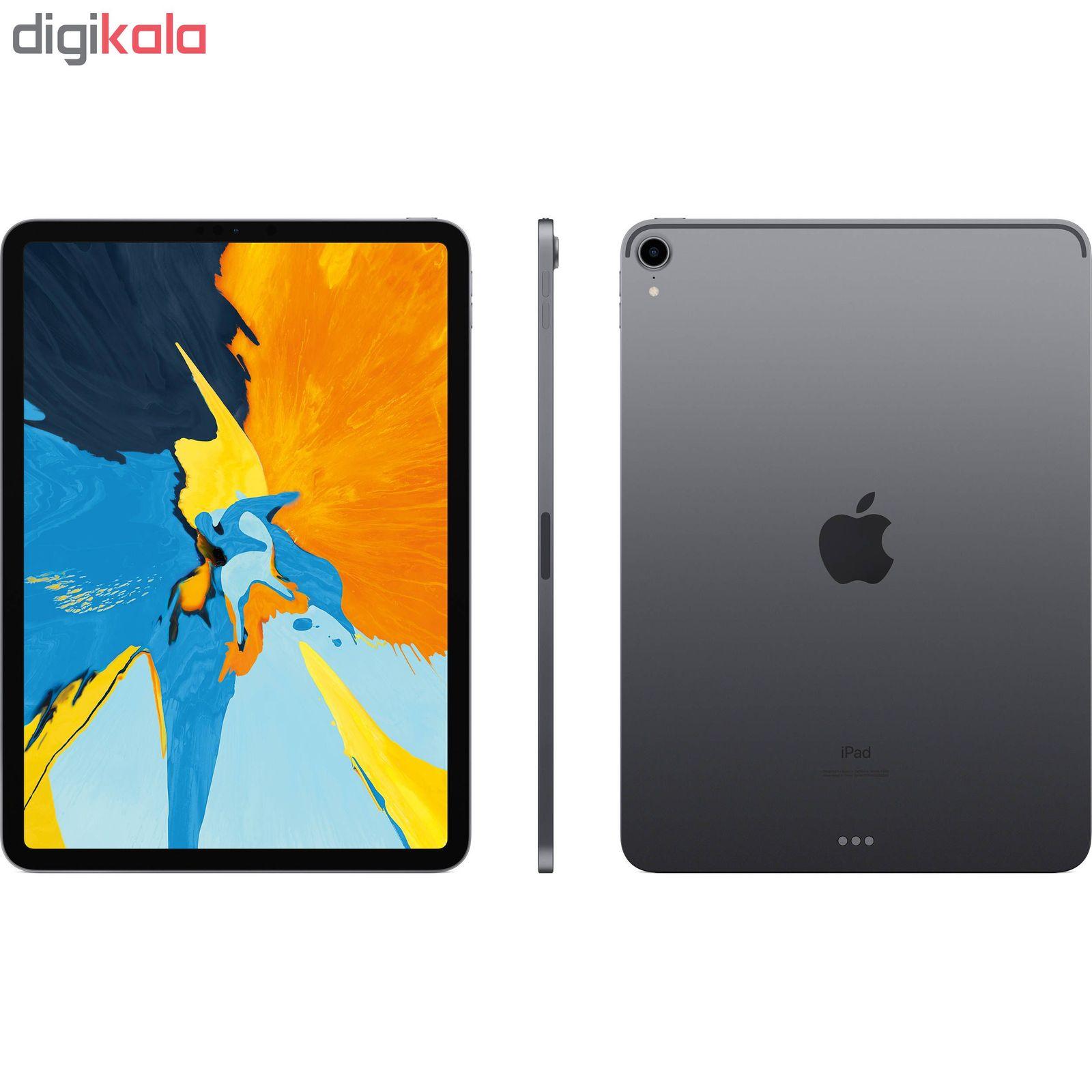 تبلت اپل مدل iPad Pro 2018 11 inch WiFi ظرفیت 256 گیگابایت main 1 3