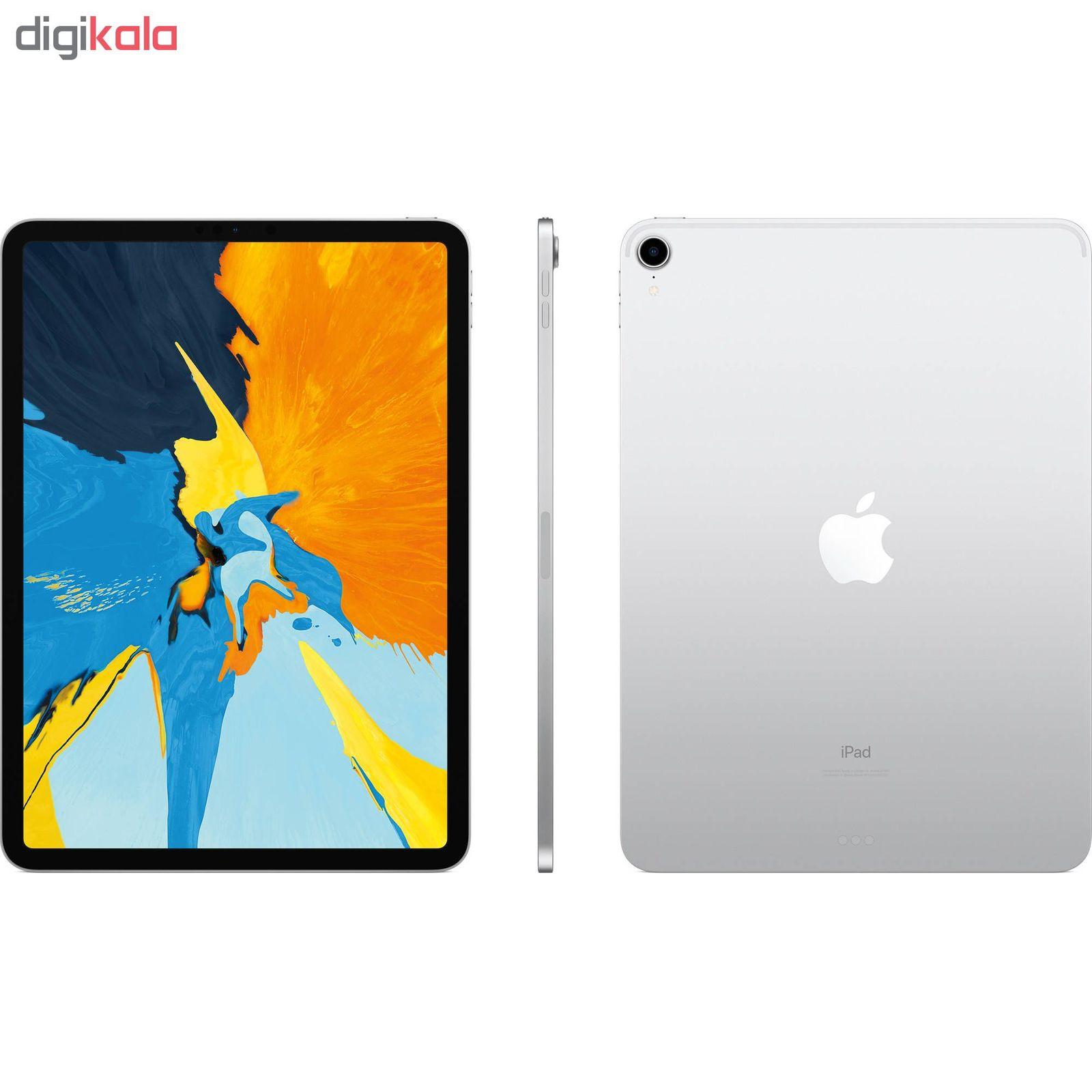 تبلت اپل مدل iPad Pro 2018 11 inch WiFi ظرفیت 256 گیگابایت main 1 6