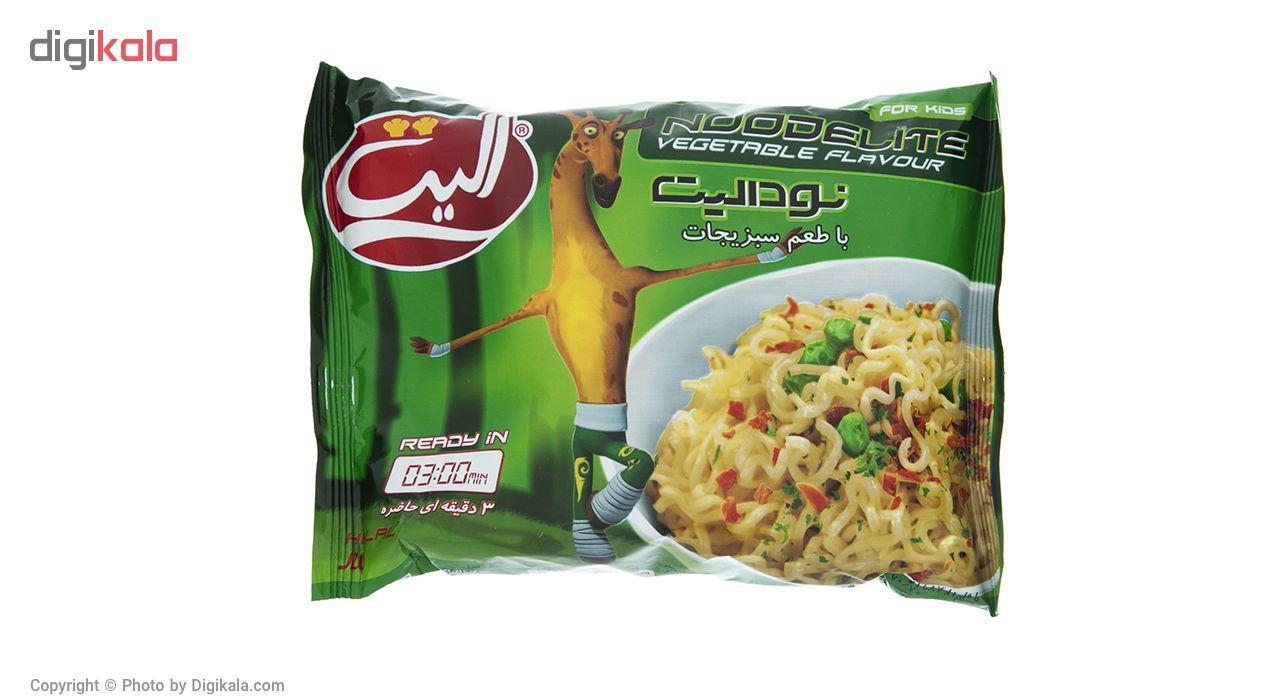 نودالیت با طعم سبزیجات الیت مقدار 75 گرم main 1 1
