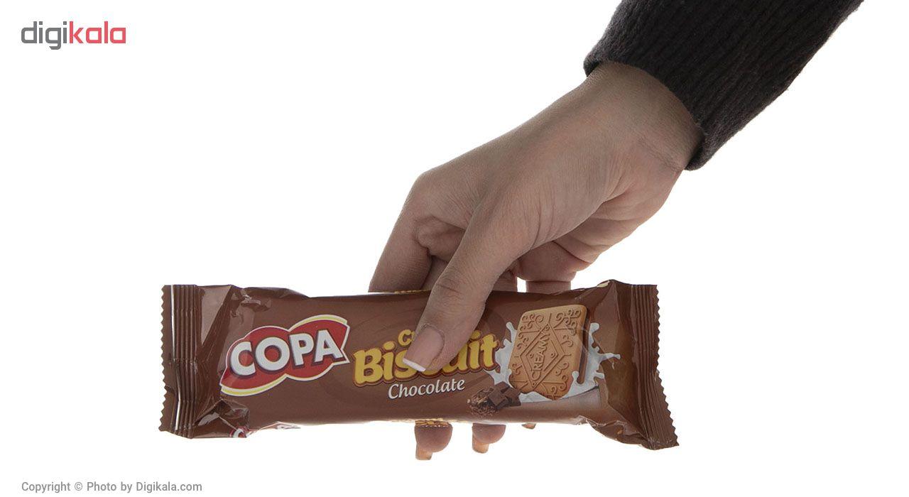 بیسکویت کرمدار شکلاتی کوپا مقدار 90 گرم main 1 3