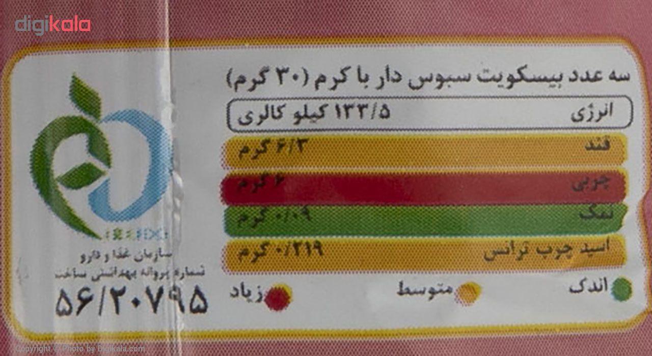 بیسکوییت مینی دایجستیو کرمدار توت فرنگی کوپا مقدار 75 گرم main 1 3