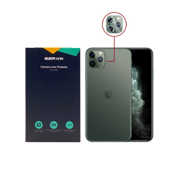 محافظ لنز دوربین اي اِس آر مدل  CLR مناسب برای گوشی موبایل اپل iPhone 11 Pro / Pro Max