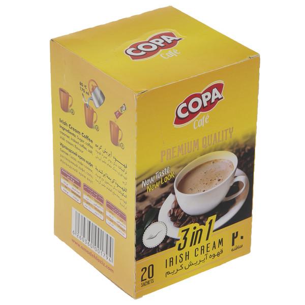 قهوه آیریش کریم کوپا مقدار 360 گرم